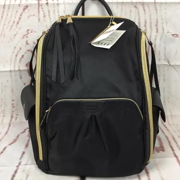 8e54a9e1de Aimee Kestenberg Black Rome laptop backpack